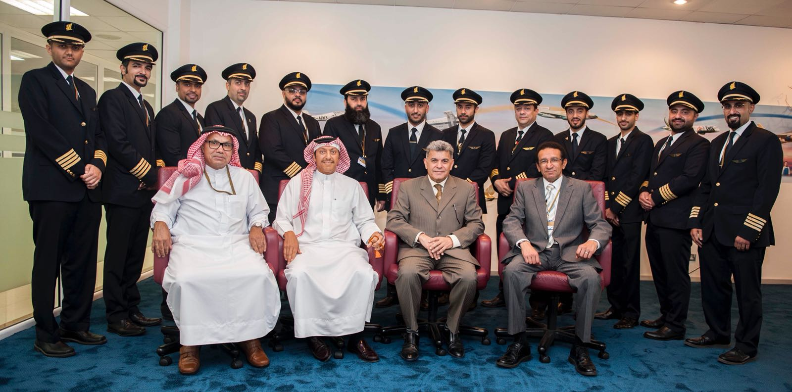 taking flight: bahraini gulf air pilots earn their stripes