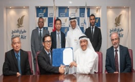 Gulf Air Awards ST Aerospace Arm 15-Year Contract for Boeing 787 Aircraft Component Support