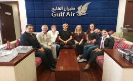 Gulf Air Brings British Media to Bahrain
