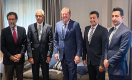 Gulf Air Meets With Boeing at 77th IATA Annual General Meeting