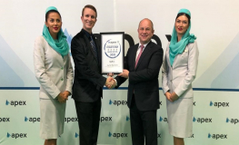 Gulf Air Receives Four Star Major Airline Rating at FTE-APEX Asia Expo 2019