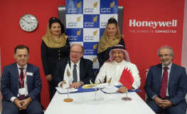 Gulf Air selects Honeywell's auxiliary power units to power its Airbus A320/321neo fleet
