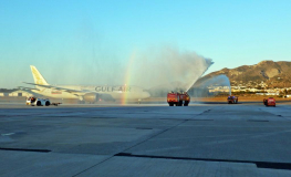 Gulf Air's Inaugural Malaga Flight Touches Down