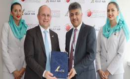 Gulf Air Signed Up as the Official Carrier of the Bahrain International Airshow 2020/22
