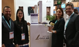 Gulf Air Participates in IFTM 2018