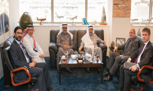 Gulf Air and Al Baraka Discuss Potential Business